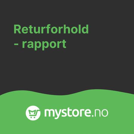 Returforholdsrapport